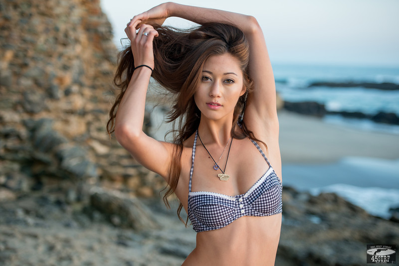 Nikon D800 E D800E Photos of Swimsuit Bikini Model @ Sunset!
