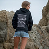 Photos of Model in Hoody & Denim Cutoff Jeans Shorts ! : Photos of Model in Hoody & Denim Cutoff Jeans Shorts !