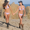 beautiful brunette bikini sisters : beautiful brunette bikini sisters