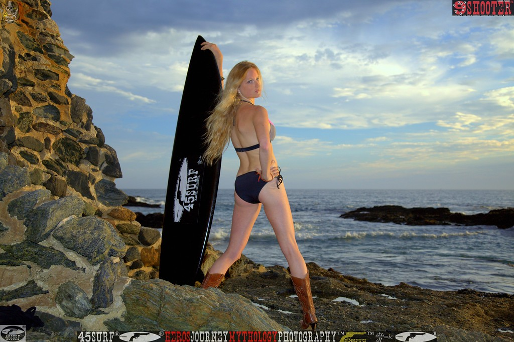 45surf sunset surf board swimsuit bikini hot pretty  beautiful 176,.,.,.,.