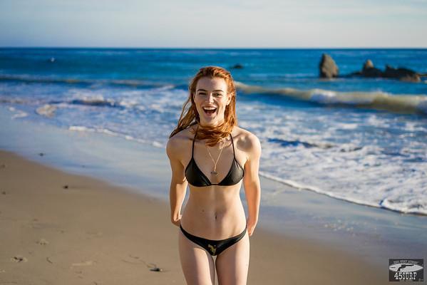 Sony A7 R RAW Photos Pretty Redhead Bikini Swimsuit Model Goddess! Carl Zeiss Sony FE 55mm F1.8 ZA Sonnar T* Lens! Lightroom 5.3 !